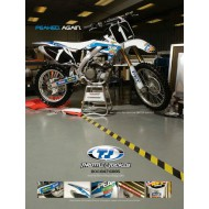 OFFER STIKER AND SEAT COVER KIT PEAK KIT CRF 250 R 04-09 X 04-14