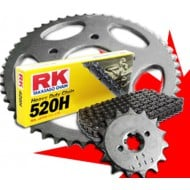 KIT DE TRANSMISION COMPLETO RK CADENA 520H GAS GAS