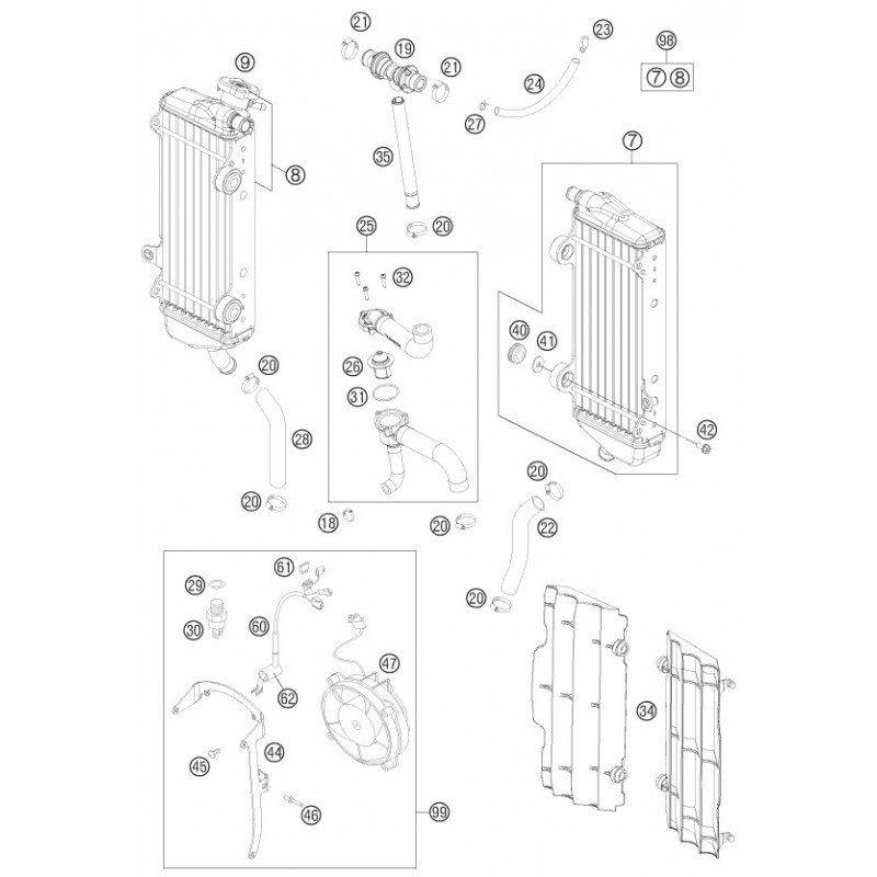 ref 60 - fan wiring harness 59011079100