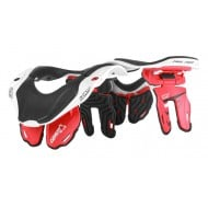 OUTLET COLLARIN INFANTIL LEATT BRACE DBX 5.5 ROJO/BLANCO
