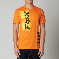 CAMISETA FOX RIGID NARANJA TALLA S