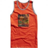 OFFER FOX BOYS GRISLER TANK T-SHIRT ORANGE