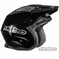 CASCO TRIAL ZONE 4 MONOCOLOR FIBERGLASS COLOR NEGRO