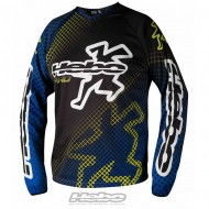 CAMISETA TRIAL PRO COLOR AZUL