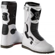 OFFER HEBO TECH COMP BOOTS WHITE COLOUR
