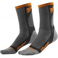 OFFER THOR DUAL SPORT SOCK 2020 GRAY / ORANGE