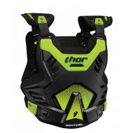THOR YOUTH SENTINEL GP CHEST PROTECTOR 2021 BLACK / FLUO