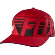 GORRA FOX DESTRO FLEXFIT ROJA 2017