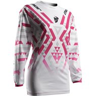 OFFER SALE THOR 2017 WOMAN PULSE FACET WOMAN JERSEY WHITE / MAGENTA
