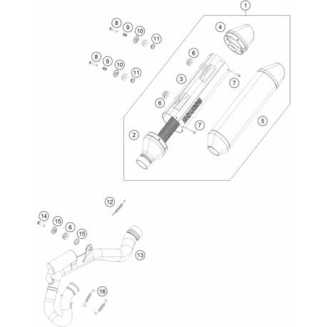 Ref 16 muelle de tracci n 50305016000 - Muelles de traccion ...