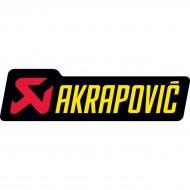 AKRAPOVIC LOGO STICKER 90 X 27 MM