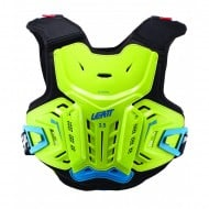 YOUTH LEATT 2.5 CHEST PROTECTOR 2021 LIME / BLUE COLOUR