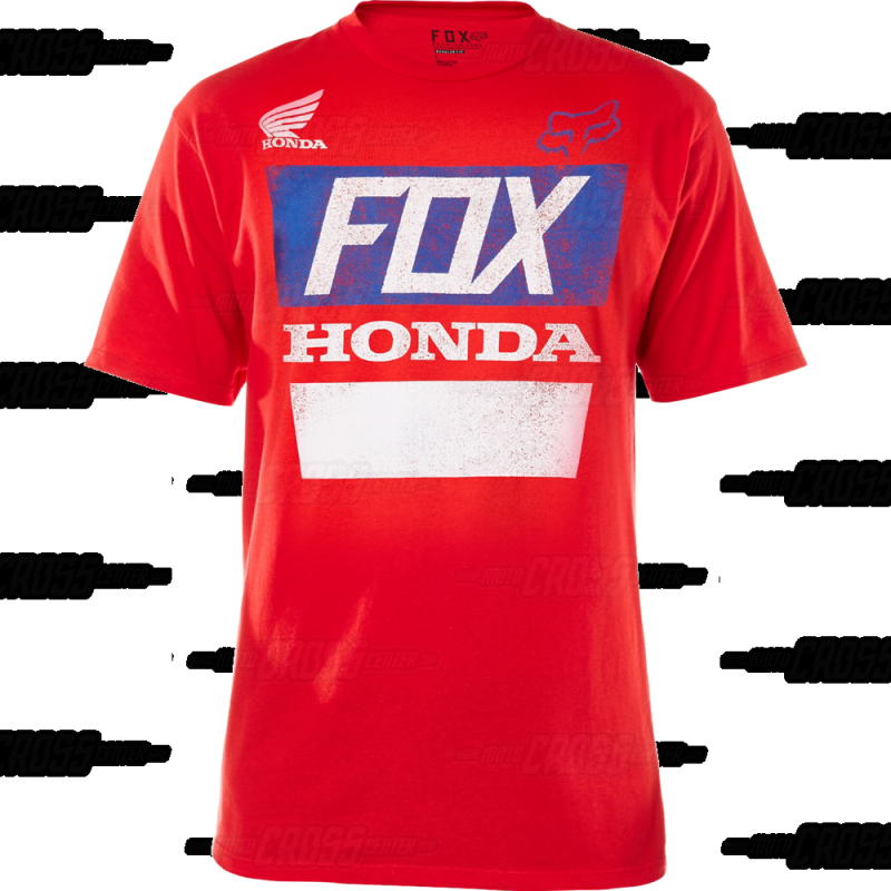 CAMISETA FOX HONDA DISTRESSED BASIC ROJA. Loading zoom f22e3723a45