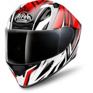 OUTLET CASCO AIROH INTEGRAL VALOR CONQUER ROJO BRILLO