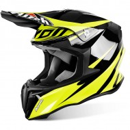 OFFER OFF ROAD HELMET AIROH TWIST FREEDOM YELLOW GLOSS