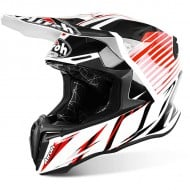 OFFER OFF ROAD HELMET AIROH TWIST STRANGE RED GLOSS