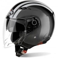 OFFER JET HELMET AIROH CITY ONE FLASH ANTHRACITE GLOSS