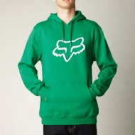 JERSEY FOX LEGACY FOXHEAD PULLOVER HOODY VERDE