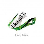 HELMET VISOR HEBO SWAY GREEN