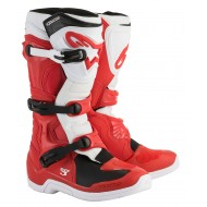 OFFER BOOTS ALPINESTARS TECH 3 2020 RED / WHITE COLOUR