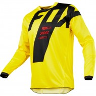 OFFER FOX 180 MASTAR JERSEY YELLOW