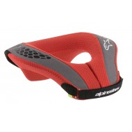 ALPINESTARS YOUTH SEQUENCE NECK ROLL 2021 RED / BLACK COLOUR