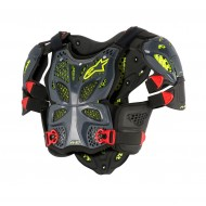 ALPINESTARS A-10 FULL CHEST PROTECTOR 2021 ANTHRACITE / BLACK COLOUR