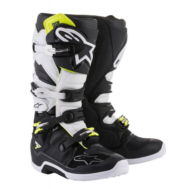 Choose Size Red//White//Black ALPINESTARS MX Motocross Offroad TECH 5 Boots