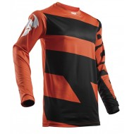 OFFER THOR YOUTH JERSEY S8Y PULSE LEVEL BLACK/ORANGE 2018