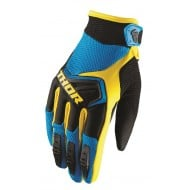 OFFER THOR YOUTH GLOVES SPECTRUM OFFROAD 2019 BLUE/BLACK