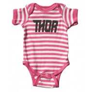 BODY INFANTIL THOR LOUD S8 SUPERMINI STRIPES ROSA