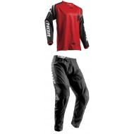 OUTLET COMBO INFANTIL THOR S8 SECTOR ZONES OFFROAD ROJO 2019