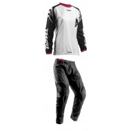 OFFER COMBO MUJER THOR S8W SECTOR ZONES OFFROAD BLANCO/NEGRO