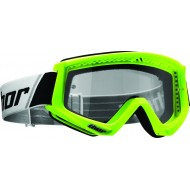 THOR SPRING 2017 COMBAT GOGGLE FLO GREEN / BLACK