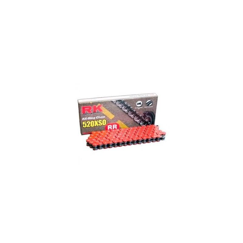 6d97157eae8b Cadena Roja Rk 520xso 120 Eslabones Con Retenes Super Reforzada