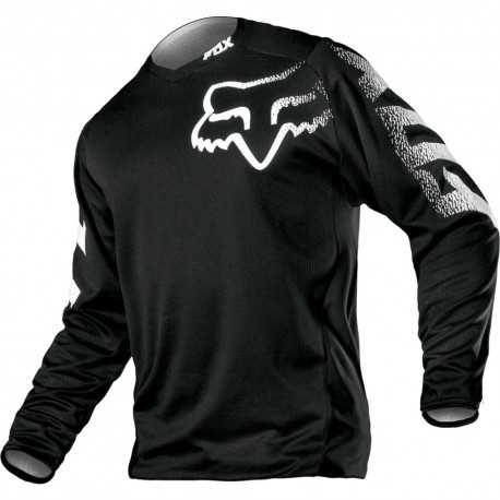 FOX BLACKOUT JERSEY 2019 COLOR BLACK 12336-001 - MotocrossCenter.com 3c019fc8abd