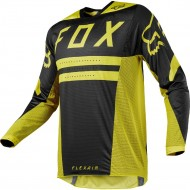 OUTLET CAMISETA FOX FLEXAIR PREEST 2018 COLOR AMARILLO OSCURO