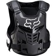 FOX RAPTOR PROFRAME LC YOUTH CHEST PROTECTOR 2018 COLOR BLACK / WHITE
