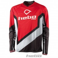 OUTLET CAMISETA HEBO TRIAL PRO 2018 COLOR ROJO