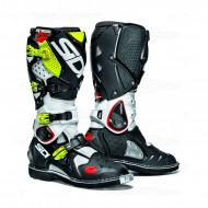 SIDI CROSSFIRE 2 BOOTS WHITE/BLACK/FLUO YELLOW