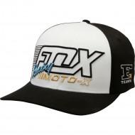 OFFER FOX FLECTION FLEXFIT HAT BLACK