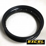 ((OFFER))FRONT RIM EXCEL 350X17 BLACK (WITH SMALL SCRATCHES)