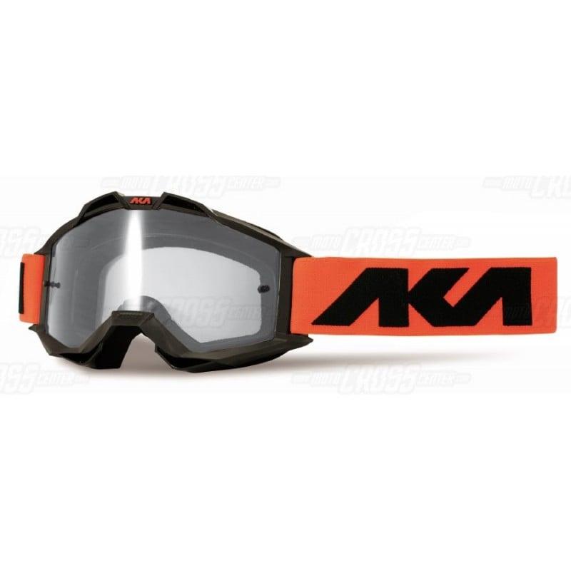 100/% Racecraft Kuriakin MX Offroad Goggles Red//Blue w//Clear Lens