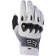 GUANTES FOX BOMBER COLOR BLANCO / NEGRO