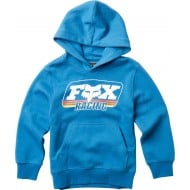 OFFER FOX YOUTH THROBACK PULLOVER COLOR BLUE