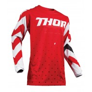 OUTLET CAMISETA THOR PULSE STUNNER S9 OFFROAD 2019 ROJO / BLANCO