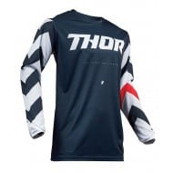OUTLET CAMISETA THOR PULSE STUNNER S9 OFFROAD 2019 MEDIANOCHE /