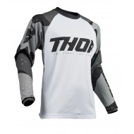 THOR SECTOR CAMO OFFROAD JERSEY 2020 GRAY/WHITE COLOUR