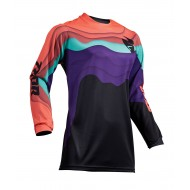 OUTLET CAMISETA MUJER THOR PULSE DEPTHS S9W OFFROAD 2019 NEGRO