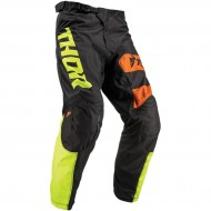 OFFER THOR YOUTH PULSE SAVAGE BIG KAT S9Y OFFROAD PANT 2019 BLACK/LIME